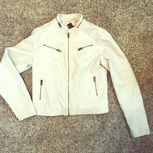 "Off White ""Leather"" jacket"